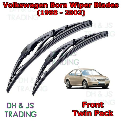 """98-02 VW Bora Avant Balais d/'essuie-glace Pare-brise 21/"""" 19/"""" de type crochet Essuie-Glaces"""
