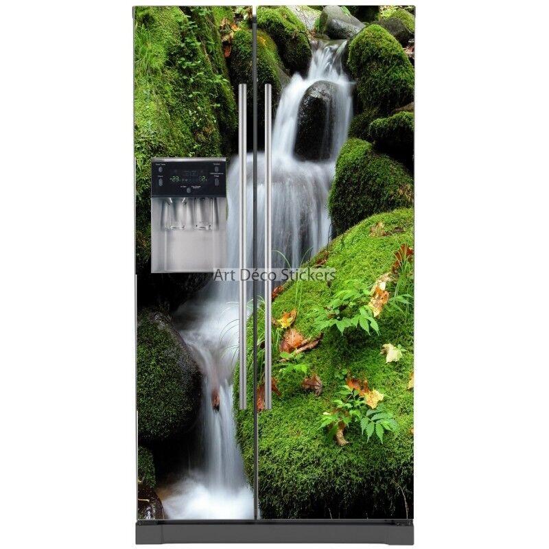 Aufkleber Kühlschrank Amerikanischer Wasserfall 5773 5773