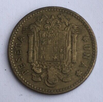 una peseta 1963 coin