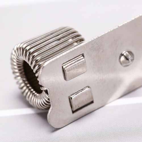 Stifthalter aus Metall mit Nietbefestigung und Taschenclip für Ärzte ZPDH