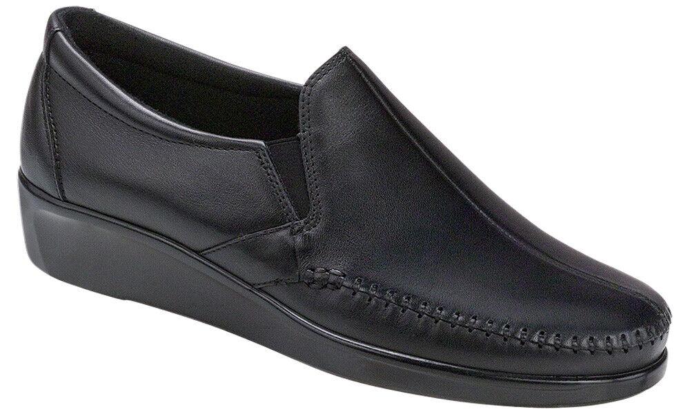 SAS Women's shoes Dream Loafer Black 7.5 Medium M FREE SHIPPING Brand New In Box