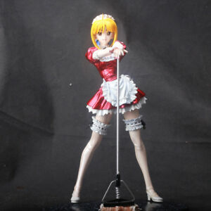 0778d884b2b9 1 6 Fate Stay Night Saber Red Maid Outfit Painted GK Figure Sexy ...