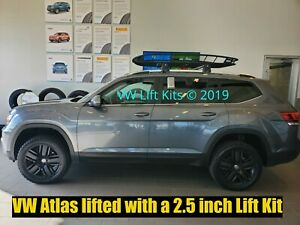 Lift Kit for VW Atlas 2017-2019  2.5 Inch Suspension Spacers Off Road Coils