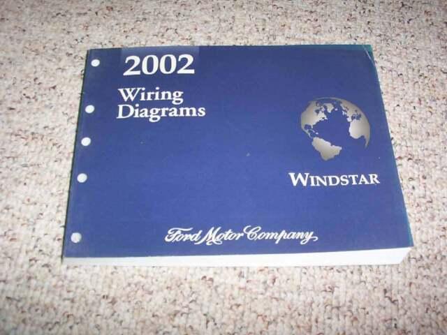 2002 Ford Windstar Electrical Wiring Diagram Manual LX SE SEL Limited 3.8L  V6   eBayeBay