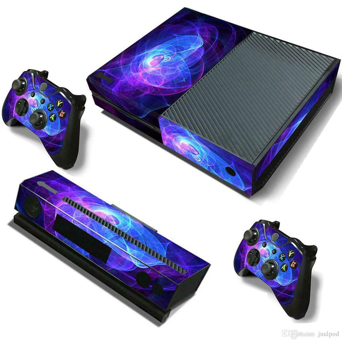 Xbox One Vinyl Protective Sticker Wrap Set - Controller Console Decal Skin