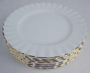 8-x-Bread-Side-Plates-6-1-4-034-Royal-Albert-Val-D-039-or-Dor-Vintage-England-reduced