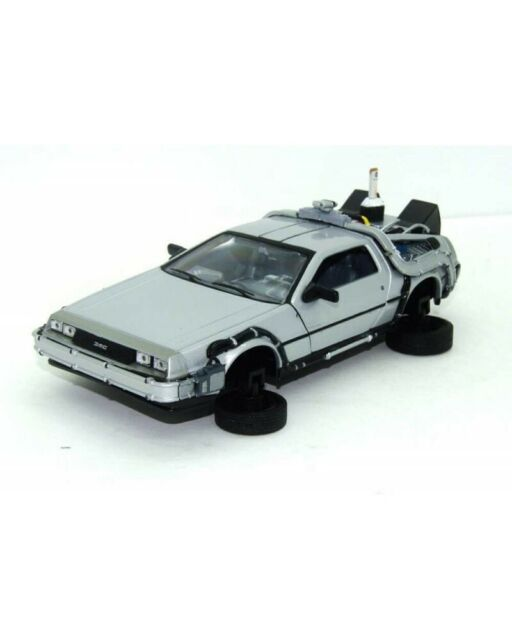 Welly Back to the Future II Time Machine Delorean Lk Coupe Fly Wheel 1/24 Scale