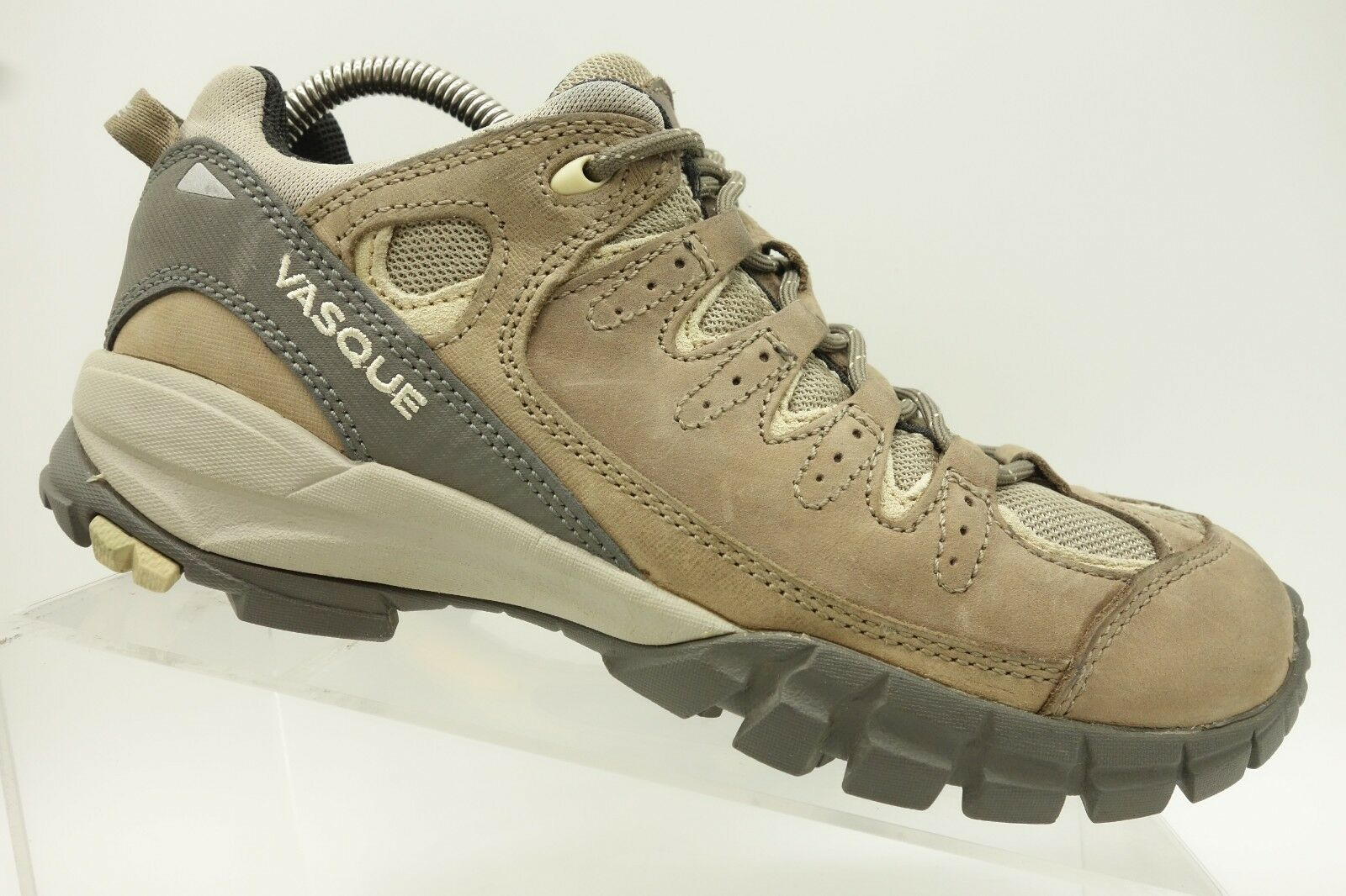 Vasque Brown Leather Lace Up Walking Hiking Trail Outdoors shoes Women's 9.5 M