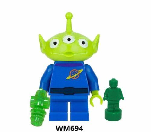 Toy Story 4 Buzz Lightyear Woody Jessie Ducky Bo Peep Duke Alien Building Blocks