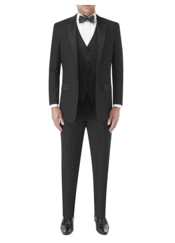SKOPES Latimer 2 Piece Dinner Suit in Black in Size 38 to 60 Inches//S//R//L