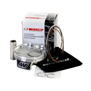 Piston Kit Standard Bore 77.00mm 13.4:1 Compression~2015 Suzuki RMZ250~Wiseco