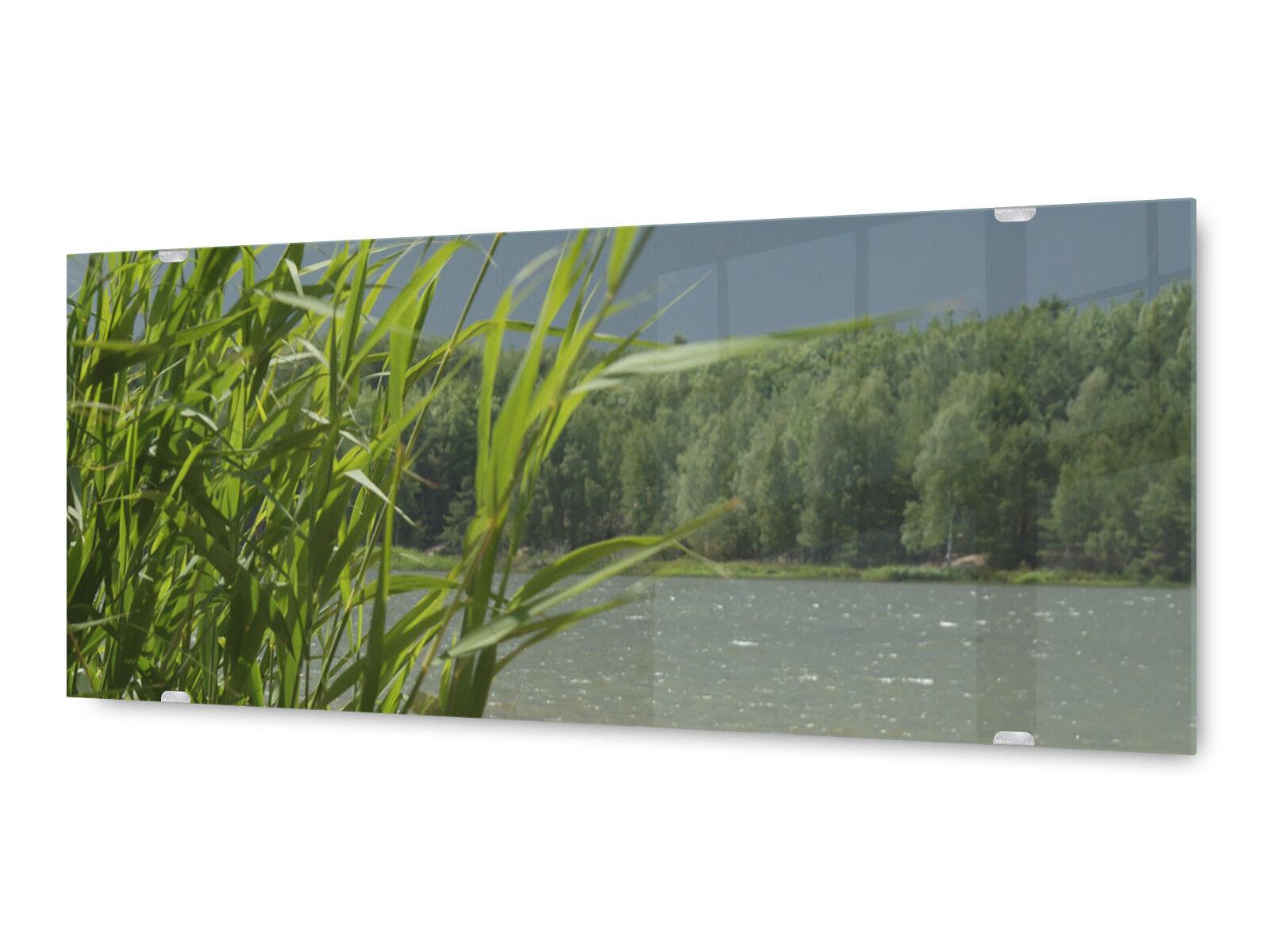 Image la fresque glx12533527178 rivière paysage 125 x 50 cm