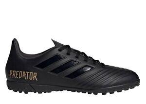 Adidas-PREDATOR-19-4-TF-F35635-Nero-Scarpe-da-Calcetto-Uomo-Comode