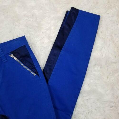 brillante Size J royal in Nikko Jeans 25 con Womens blu skinny Brand pannelli 44qEaw7