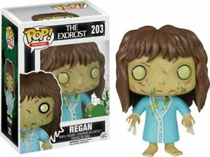 Regan The Exorcist Der Exorzist Horror Pop Movies #203 Vinyl Figur Funko Aufsteller & Figuren