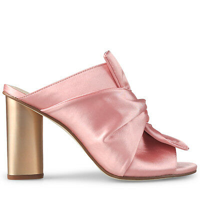 Wittner Ladies Shoes Pink Satin Heels