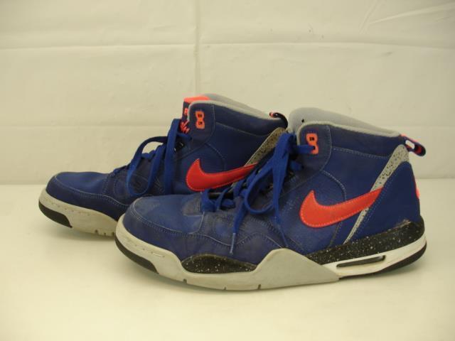Mens 10 Nike Air Flight 13 2013 Mid Deep Royal Blue 579961-400 Basketball Shoes Brand discount