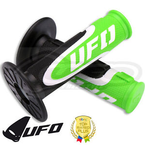 UFO-axioma-Grips-Triple-Densidad-Apretones-Motocross-apretones-De-Manillar-Verde