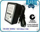 AC DC Adapter 12V 3A 2A 1.5A A-tick Cetificate AU STANDARD LED Strip CCTV 4Port