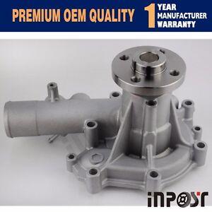 Water Pump YM123907-42000 YM123945-42000 for Komatsu 4D106 Yanmar 4TNV106T 4TNV106 Engine Takeuchi TL150 Komatsu BM393 BM595 BM798