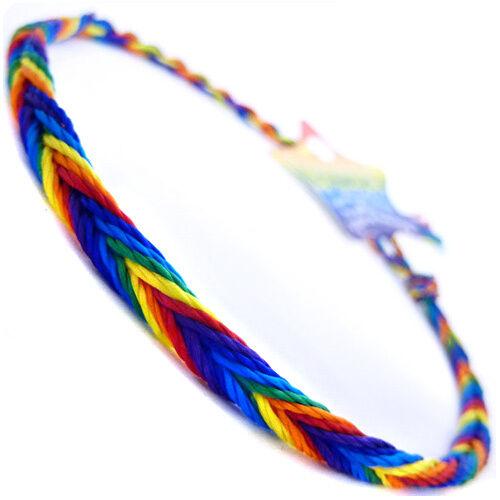 Colorido Arcoiris Pulsera Lgbt Orgullo Gay Festival Amistad Elija Su Estilo