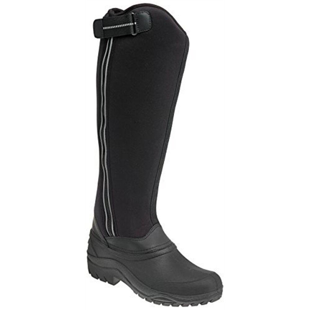 Lazos para mujer 200 Drift botas  De Invierno-Negro, Talla 3-Harry Hall Frost  a la venta