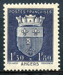 STAMP-TIMBRE-FRANCE-NEUF-N-558-BLASON-ANGERS