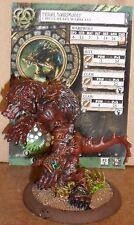 Feral Warpwolf Warbeast Circle Orboros Hordes Mk3
