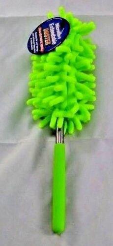 75 cm télescopique de nettoyage en microfibre Duster Brosse extensible Soft Grip poignée Nouveau