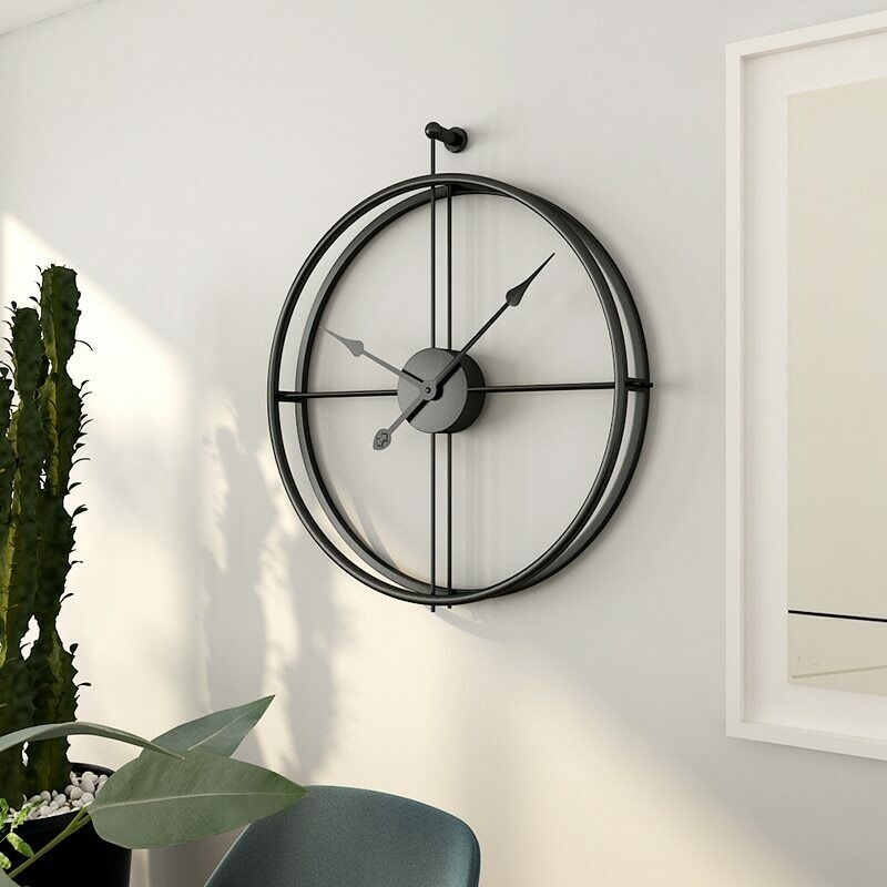 55cm Large Silent Wall Modern Design For Home Decor Style Hanging Wall Watch