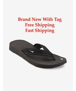 Brand BLACK New NIKE CELSO THONG BLACK Brand FLIP FLOP WOMEN Size 5-10 -SHIPS SAME DAY f9fa41