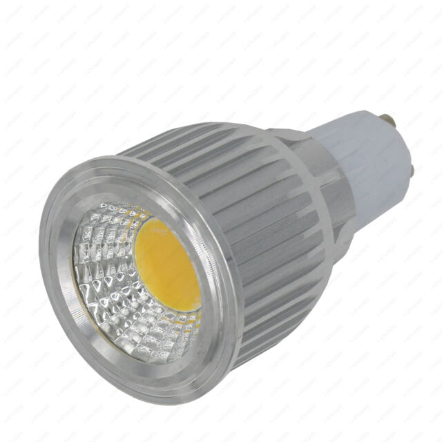 7W E27/GU10/MR16 LED Light Replacement Bulbs COB-Chipset for Hotel wall sconces