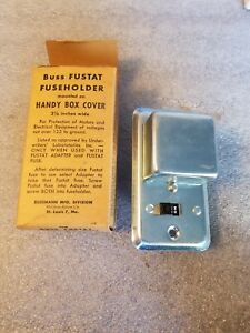 details about buss fusetron box cover unit ssu fuse holder switch on cover 2 1 4 new nos agc fuse buss ssu fuse box #4