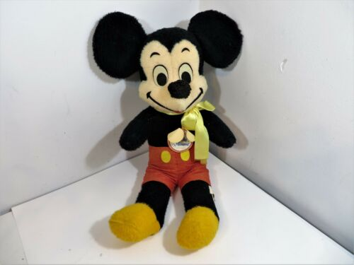 "Disney Mickey Mouse California Stuffed Toys 24"" Vintage Plush"