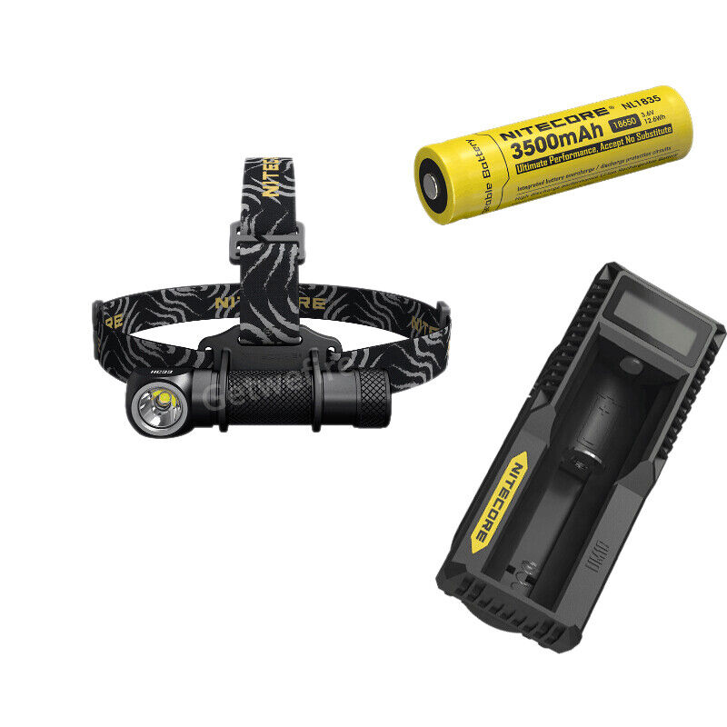 Nitecore HC33 CREE XHP35 LED 1800 LM High Performance Headlamp&battery&charger