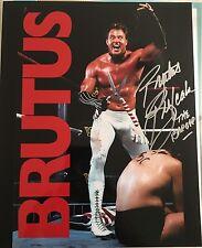 Brutus Beefcake Signed 8x10 Photo Wwe Vintage Wrestling Exact Proof