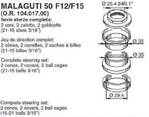 SERIE-STERZO-COMPLETA-BUZZETTI-MALAGUTI-F12-PHANTOM-50-F15-FIREFOX-50