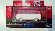 1959 MICROBUS VW 1 of 200 CHASE LIMITED EDITION VOLKSWAGON 1/64 M2 PINK & WHITE