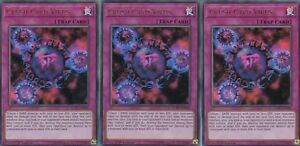 3 X CRUSH CARD VIRUS YUGIOH KAIBA LCKC-EN046  LEGENDARY COLLECTION