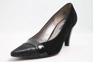 Ara-Schuhe-Pumps-schwarz-Leder-Gr-41-UK-7