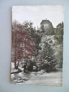 Ansichtskarte-Berneck-Fichtelgebirge-50-60er-Gasthof-Zum-herrlichen-Bock
