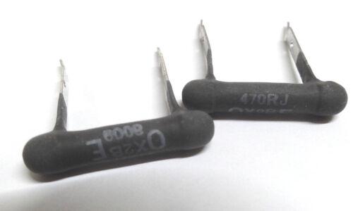 10x 470R 470 ohm 4W wirewound resistor