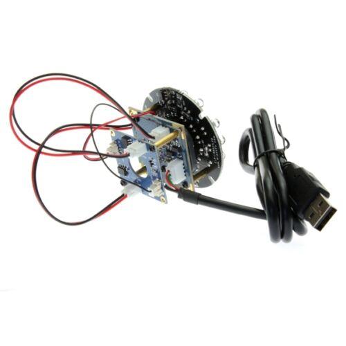 2.1mm Lens 2MP USB IR CUT LED CMOS OV2710 Camera Module MJPEG 30fps//60fps//120fps
