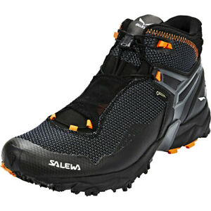 Details zu Salewa Ultra Flex Mid GTX Shoes Men BlackHolland 2019 Schuhe schwarz