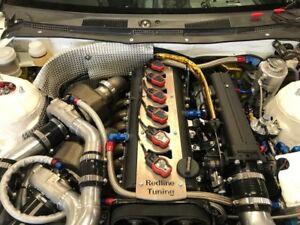 Toyota-Supra-2-JZGTE-Bobina-de-encendido-Audi-R8-placa-de-conversion-no-vvti
