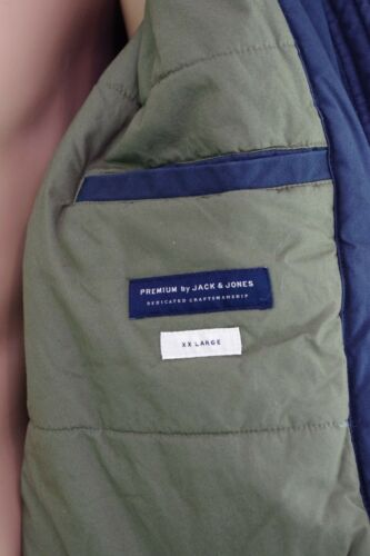Navy Parka di grossa Jones uomo da taglia Jack Giacca 2xl Blue Navy 5vn08Y0