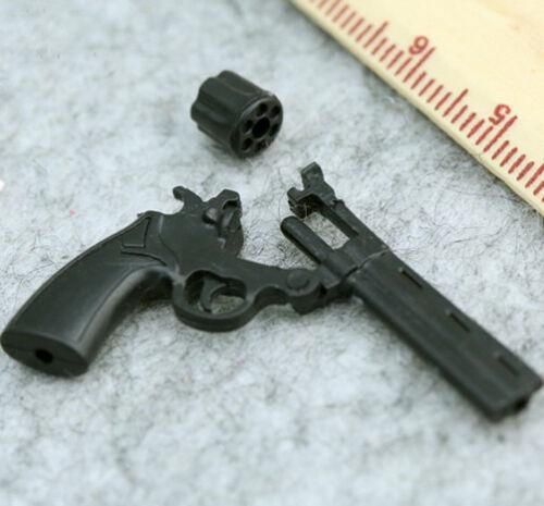 "1:6 Scale Toy Model Kohler Python 357 Revolver Gun For 12/"" Figure Action"