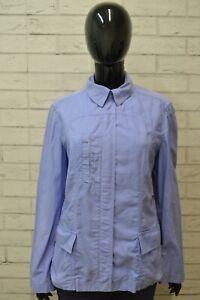 Giacca-TRUSSARDI-Taglia-44-Shirt-Woman-Donna-Giubbino-Giubbotto-Manica-Lunga