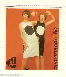 ea3c4c0d023 Details about #D241. SET OF TWENTY 1966 DUTCH SUMMER WOMEN'S FASHION  MATCHBOX LABELS