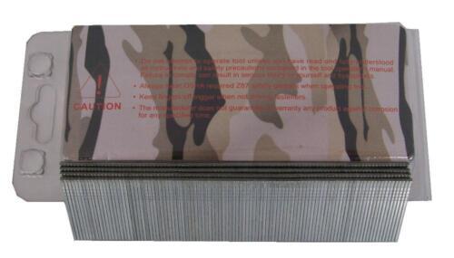 CoFast 18 Ga 1-1//4 inch Straight Finish Brad Air Nails fit Most 18 Ga Nailers 1M